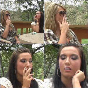 Mandie & Tinsley Smoking
