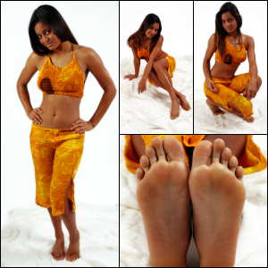 Picture Set: Latin Beauty Barefoot