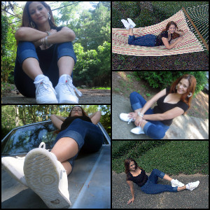 Picture Set: Vivian Wearing Princess Reeboks 01