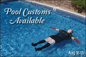 Pool Customs August 16th