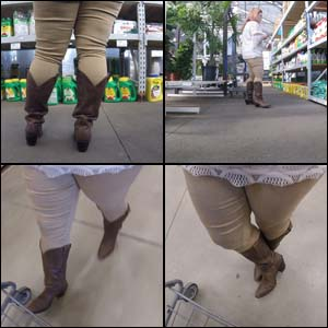 Shopping in Brown Shyanne Cowgirl Boots