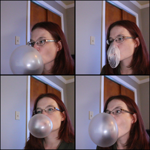 Blowing Bubbles While Editing Videos