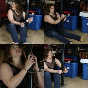 Veronica is Captured by a Boot Fetishist