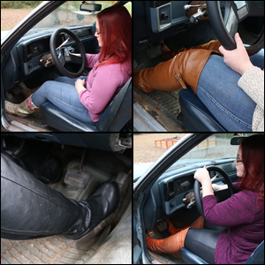 Scarlet Cranking & Revving the Monte Carlo in 6 Pairs of Boots