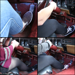 Cranking the Jeep in 4 Outfits & 4 Pairs of Vans