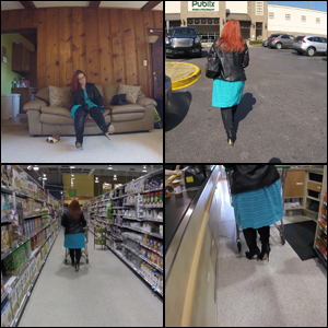 You Like Watching Auntie Shop in OTK Boots
