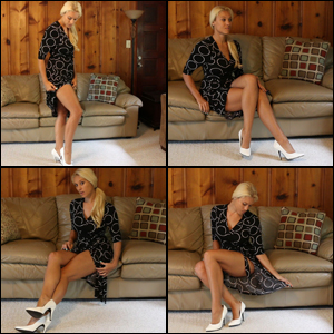 Brooke's Sexy Legs before Custom Video Time